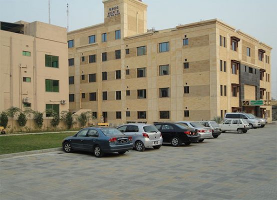 History of Farooq Hospital